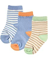 Hudson Baby Touched By Nature Organic Socks 3 Pack