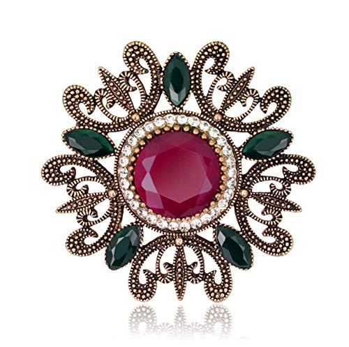 DDLKK Vintage Brooch Fashion Luxury Women