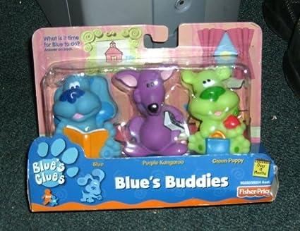 Amazoncom Blues Clues Blues Buddies Blue Purple Kangaroo and