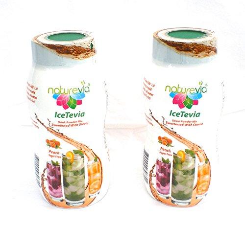 Sugar free Iced Tea Powder Mix Drink with stevia Icetevia...