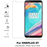 One Plus 5T / One Plus 5 T/ One Plus Five T Tempered Glass Screen Protector 9H Curved Full Coverage By Mobi Armor