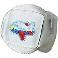 Gafas de seda para niños Máscara para los ojos Ambliopía Estrabismo Parches oculares perezosos-Blanco # 06
