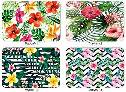Modello Tropicale Multicolore 31 x 45 cm Lupia Tovaglietta