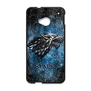 Happy Stark Fashion Comstom Plastic case cover For HTC One M7