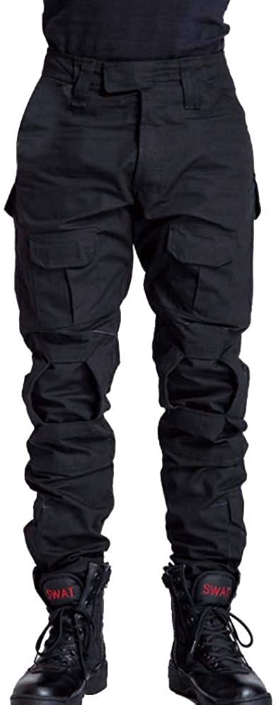 AKARMY Men's Military Tactical Pants Casual Camouflage Multi-Pocket BDU Cargo Pants Trousers: Clothing