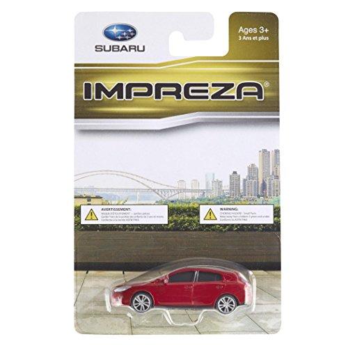 Official Genuine Subaru 2015+ IMPREZA Sport 1/64 Die Cast Toy Car 265554 RED New OEM