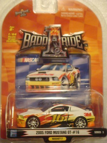 (Promark 2007 1/64th Scale Greg Biffle #16 3M 2005 FORD MUSTANG GT Series 3)