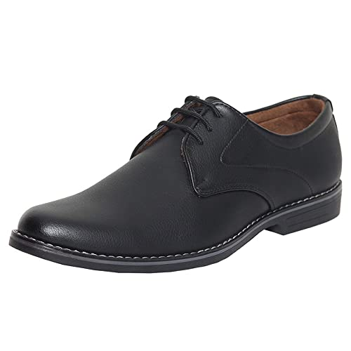 ba671987ad7 Azzaro Black Men s Black Synthetic Leather Formal Shoes  Buy Online ...