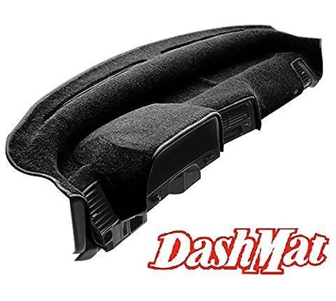 DashMat UltiMat Dashboard Cover Dodge Ram Pickup (Premium Carpet, Black) (2002 Dodge Ram 2500 Dashboard)