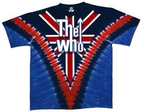 Rock Short Sleeve Tee (Liquid Blue Men's Who Long Live Rock Short Sleeve T-Shirt, Multi, X-Large)