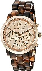 Michael Kors Women's Audrina Brown Watch MK6199