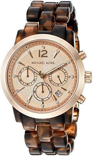 Michael Kors Women's Audrina Brown Watch - Michael Watch Tortoise Kors