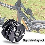 Leaftree-lucchetto-per-bicicletta-catena-per-lucchetto-per-mountain-bike-Sicurezza-per-motocicletta-Lucchetto-in-ferro-Catena-per-bici-Lucchetto-pieghevole-per-ruota-Blocco-antifurto