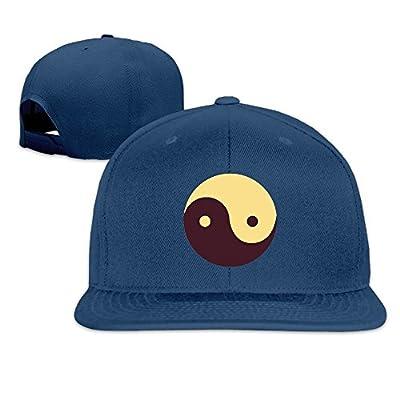 Mossey Raymond Athletic Baseball Hat Print Taiji, 100% Cotton Adjustable for Men Women