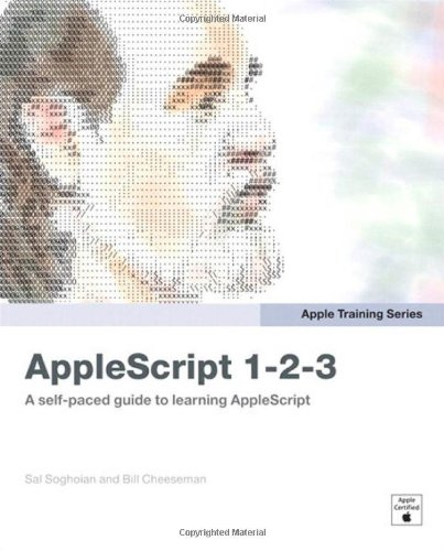 Apple Training Series: AppleScript 1-2-3 by Peach Pit Press