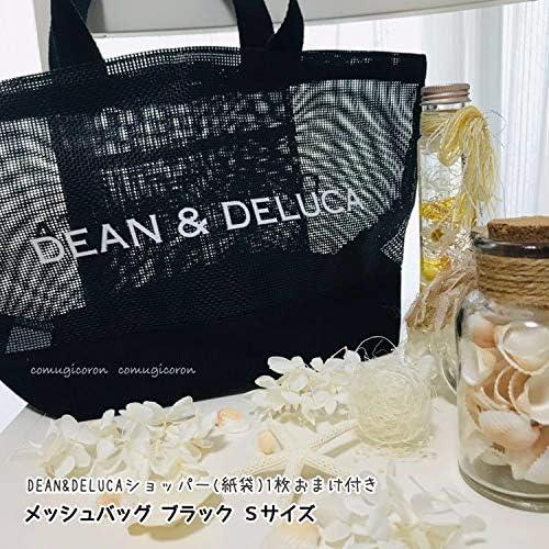 Amazon Co Jp 紙袋付 sサイズ Dean Delucaメッシュバッグ メッシュトートバッグ エコバッグ ショッピングバッグ ディーン デルーカ 黒ブラック ホビー 通販