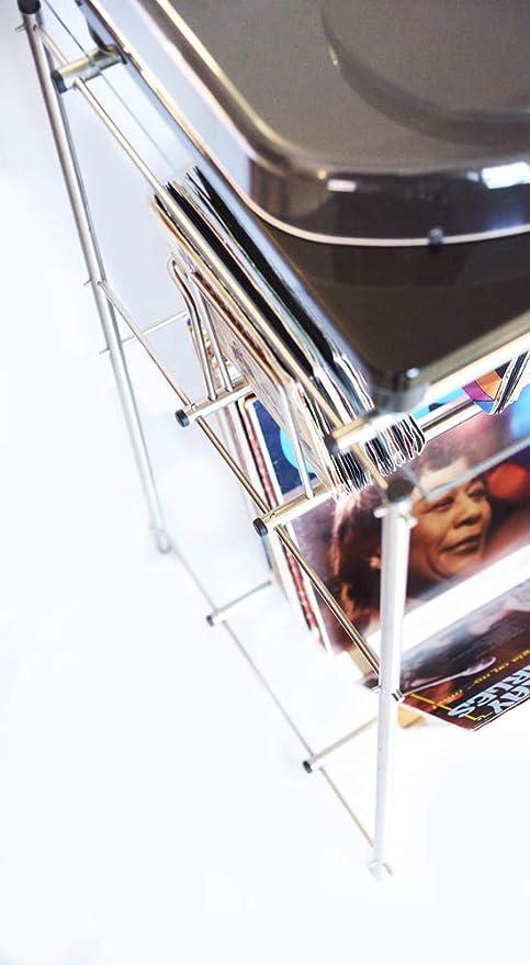 CNM PRODUCT ® Porta tocadiscos y discos de vinilo