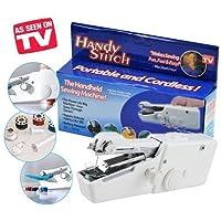 Tradevast Plastic Electric Mini Handheld Handy Stitch,Craft Sewing Machine (Multicolour, Tradevast_278-64_Portable_Cordless)