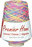 Premier Yarns 1032-01 Home Cotton Yarn - Multi Cone-Rainbow