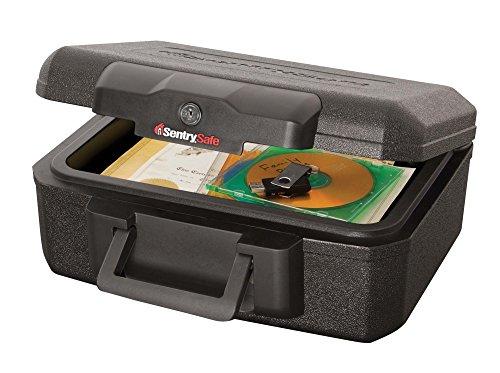 Compact Security Lightweight Office Home 0.5 Hr Fireproof (1550 Deg F) Key Lock Safes - 0.5 Hr Fire Safe