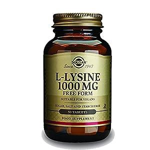 L Lysine 1000mg Solgar