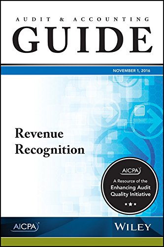 Revenue Recognition 2016 (AICPA Audit and Accounting Guide)