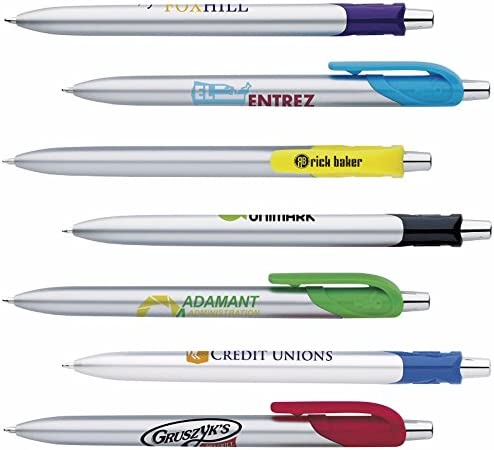 300Personalized Bic HonorシルバーペンPrinted with Yourロゴまたはメッセージ