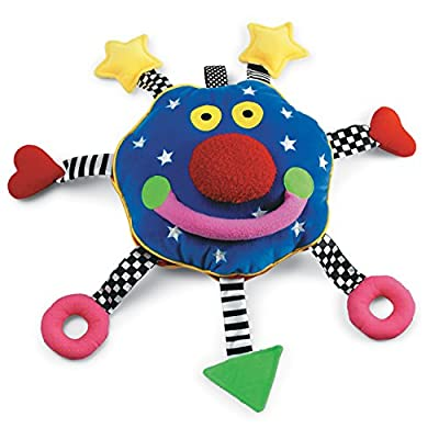 Manhattan Toy Whoozit Rattle and Squeaker Sound Developmental Baby Toy: Toys & Games