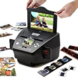 Digitnow M122 High-resolution 2 in 1 Photo, Slide and Film Scanner with SD Card