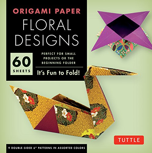 Floral Origami - Origami Paper - Floral Designs - 6