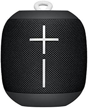 Logitech Ultimate Ears WONDERBOOM Super Portable Waterproof Bluetooth Speaker – Phantom Black Renewed