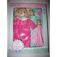 Rock-A-Bye Baby Deluxe Doll Fashion Pack - Light Pink