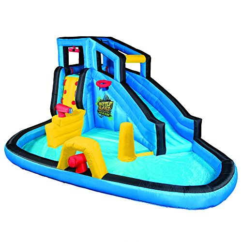Price comparison product image Banzai Battle Blast Adventure Inflatable Water Park