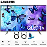 Samsung QN82Q6FNA 82' Q6FN Smart 4K Ultra HD QLED TV (2018) (QN82Q6FNAFXZA) with 1 Year Extended Warranty