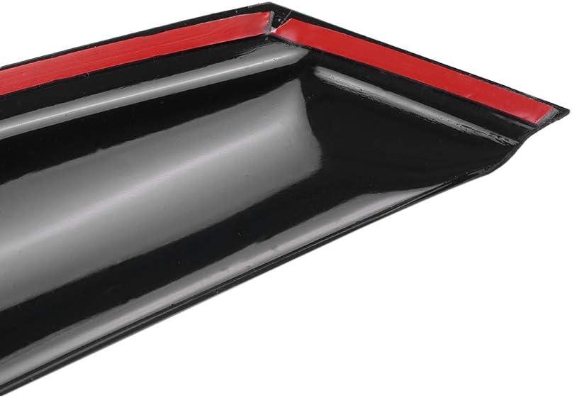 Kecheer Visera para ventana Protector contra la lluvia Vent Sun Shade Deflector para VW Touran 2006-2015