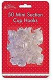 Paquet de 50 Mini Fixation Ventouse Crochets