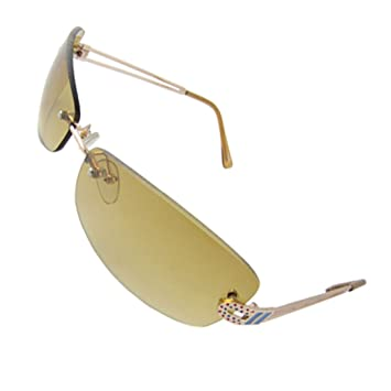 fcc779188ae Colorful Dots Side Decor Metal Arms Sunglasses Foldable for Ladies  Amazon. co.uk  Sports   Outdoors