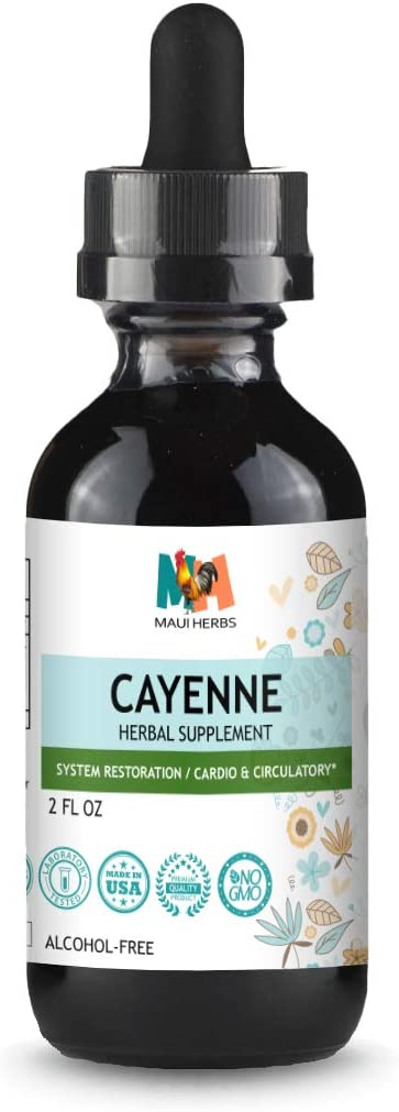 Cayenne Tincture 2 FL OZ Alcohol-Free Extract