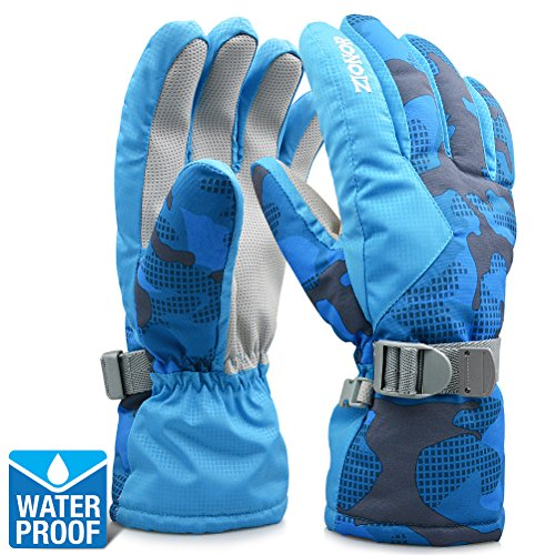 ZIONOR Lagopus SG3 Ski Gloves for Adult Men and Women