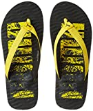 Puma Unisex Miami Fashion Dp Black-Yellow-Quarry Hawaii House Slippers - 10 UK/India (44.5 EU)