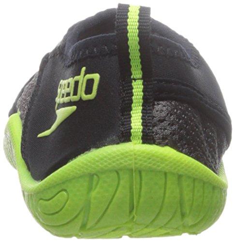 Zapatillas De Agua Speedo Kids Surfwalker Pro 2.0 (niño Pequeño / Niño Grande) Negro / Amarillo