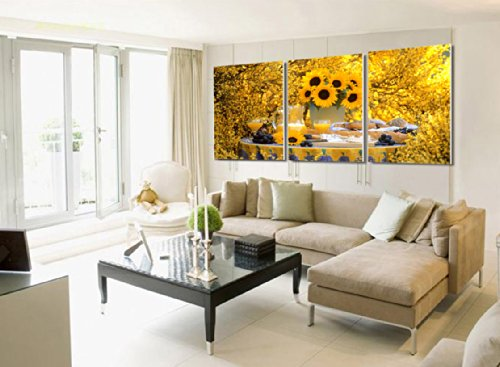 Sunflower living room decor - Canval Wall Art