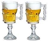 Artland Skull Goblet and Candy Jar (Set of 2 Goblets)