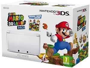 Nintendo 3DS - Consola, Color Blanco (Incluye Super Mario