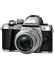 Olympus Mark II Mirrorless Camera Olympus OM-D Mark II Mirrorless Digital Camera with 14-42mm Lens, Silver, (E-M10), Silver (E-M10)