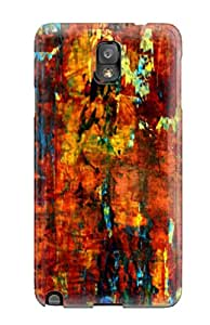 Special Design Back Abstract Painting Phone Case Cover For Galaxy Note 3