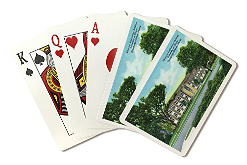 Champaign-Urbana, Illinois - University of Illinois; Exterior View of Electrical Engineering Bldg (Playing Card Deck - 52 Card Poker Size with (Bldg University)