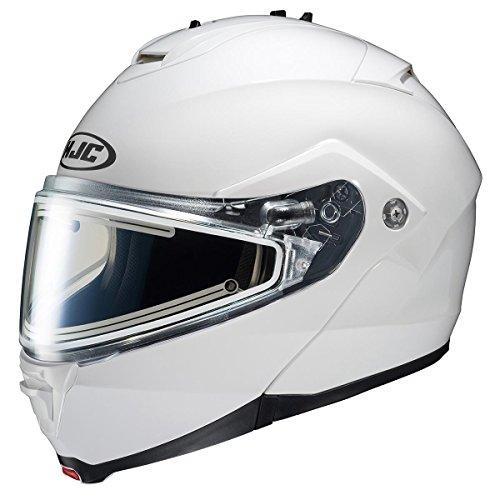 HJC Helmets Unisex-Adult IS-MAX II Electric Shield Helmet (White, X-Large)