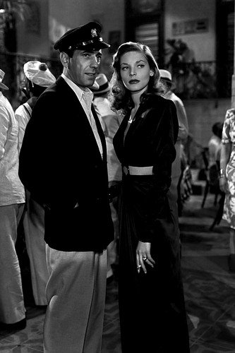 Lauren Bacall and Humphrey Bogart in To Have and Have Not