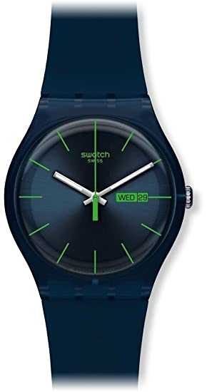 Relojes swatch mujer azul